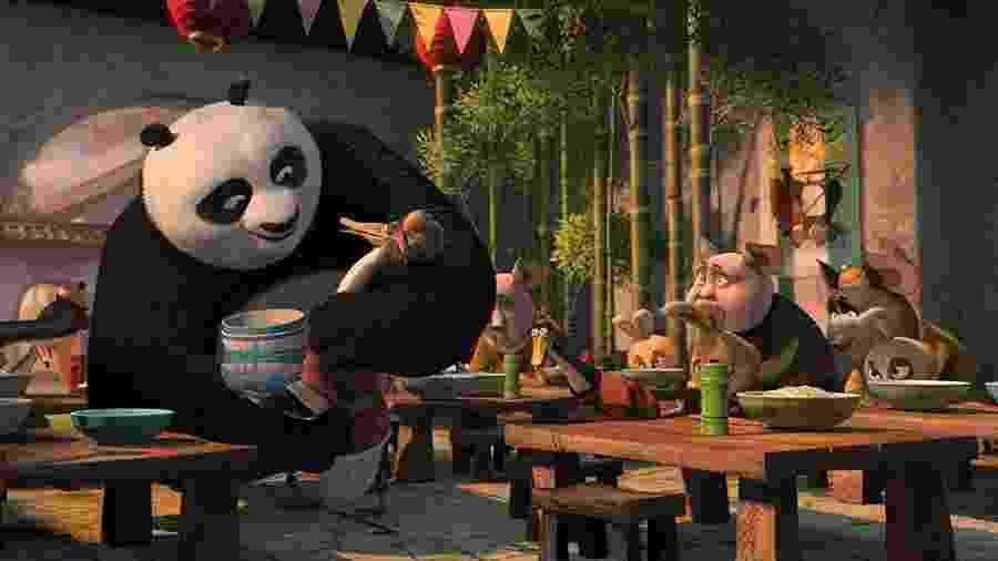 Cena de Kung Fu Panda 2 - Divulgação/IMDb