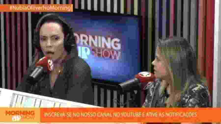 Núbia Óliiver participa do Morning Show, da Jovem Pan - Reprodução