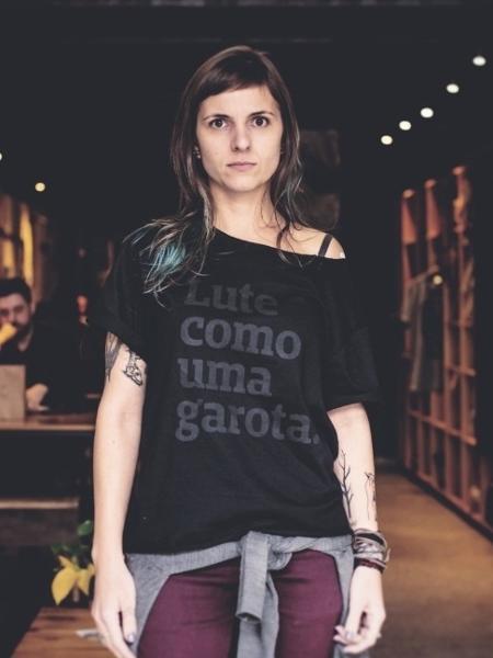 Karina Gallon, a designer que criou a Peita - Munir Bucair Filho/Divulgação