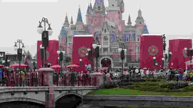 Enchanted Storybook Castle, no Shanghai Disney Resort  - Getty Images - Getty Images