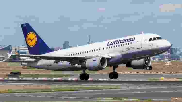Avião da Lufthansa decolando - Divulgação - Divulgação