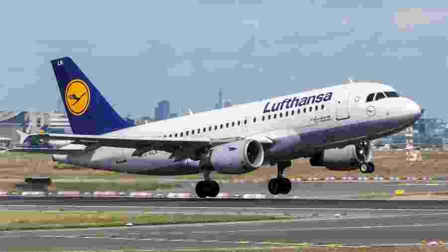 Lufthansa está abrindo mão de até quatro aviões cada em Frankfurt e em Munique - Divulgação