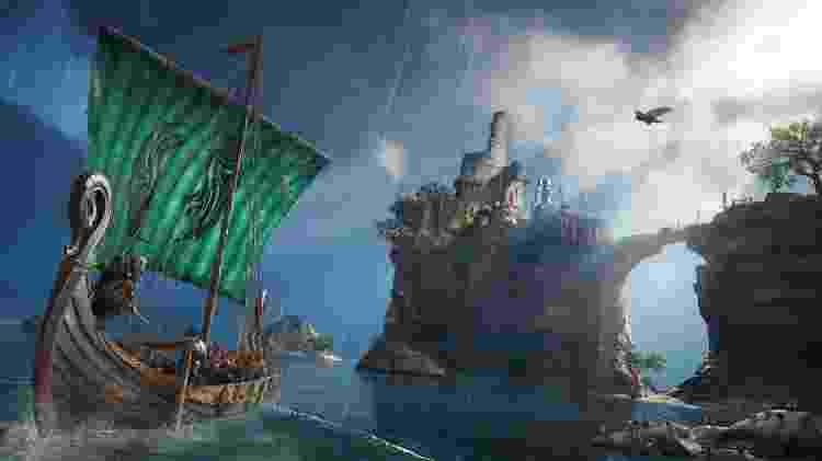 Assassin's Creed Valhalla barco - Divulgação/Ubisoft - Divulgação/Ubisoft