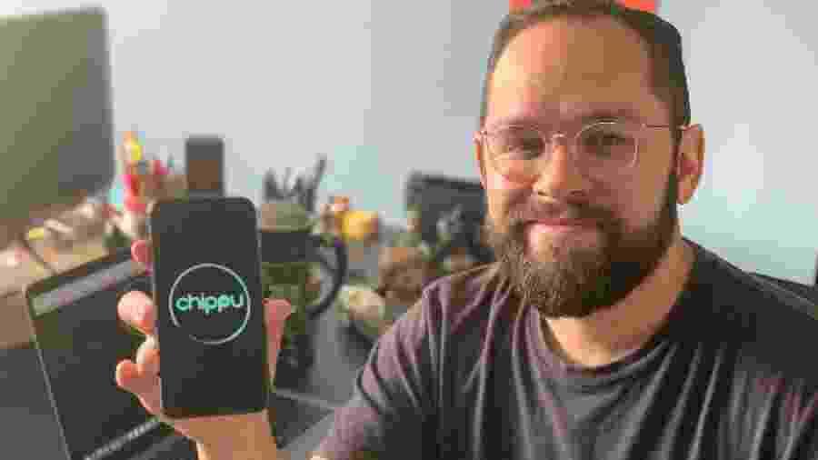 Thiago Romariz, um dos criadores do app Chippu - Divulgação