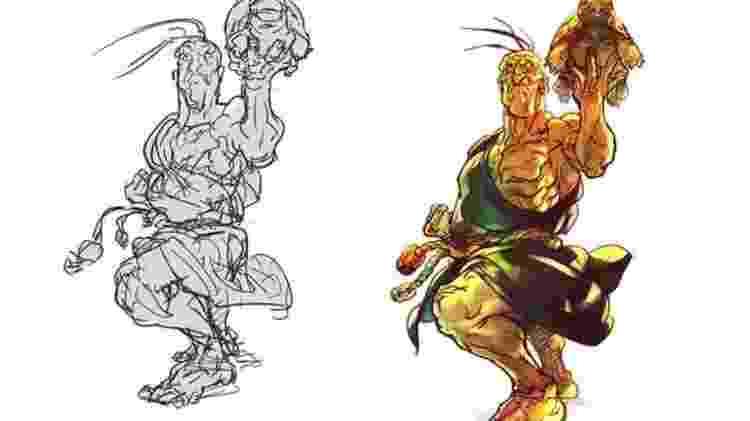 SFV Oro - Divulgação/Capcom - Divulgação/Capcom