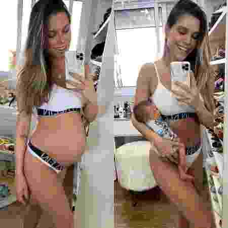 Flávia Viana mostra seu físico após dar à luz - Reprodução / Instagram
