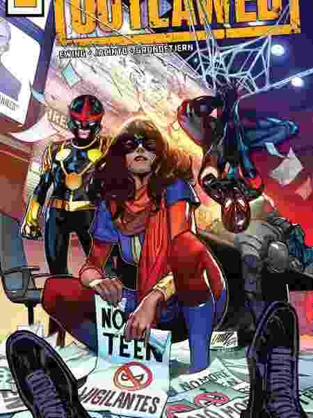 Kamala Khan personagem HQ - Divulgação/Marvel - Divulgação/Marvel
