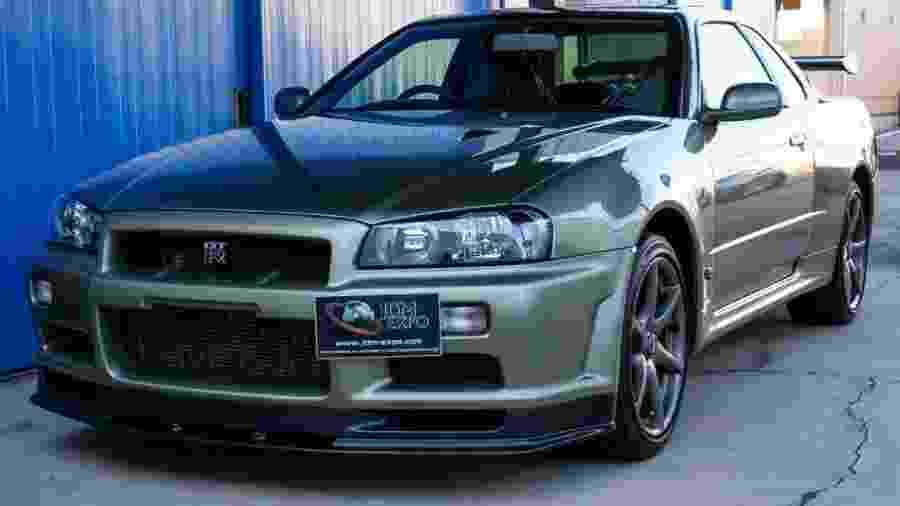 Nissan Skyline GT-R 2002 - Divulgação