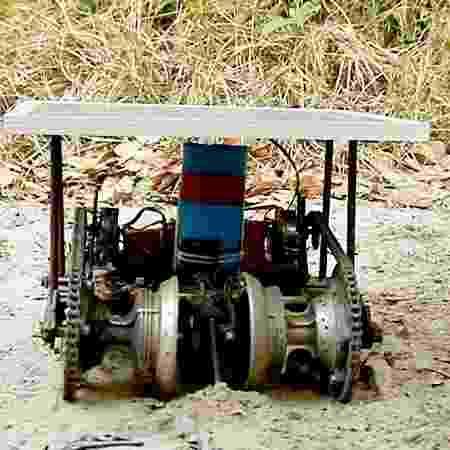 Vespertílio 01, robô semeador para a agricultura familiar - Divulgação - Divulgação
