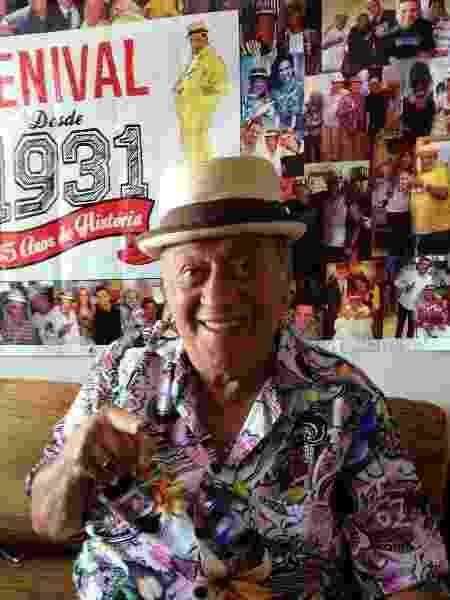 Genival Lacerda, 89 anos, está internado com covid-19 - Reprodução/Instagram