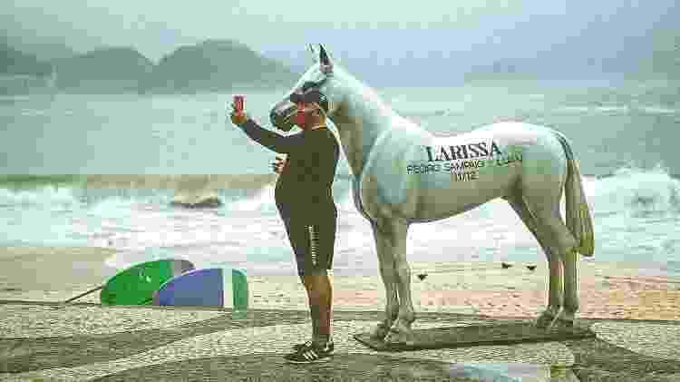 Cavalo Larissa - Divulgação/Bernardo Prado - Divulgação/Bernardo Prado