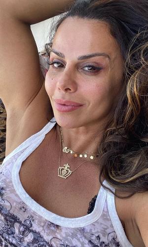 Viviane Araújo publicou foto nas redes sociais