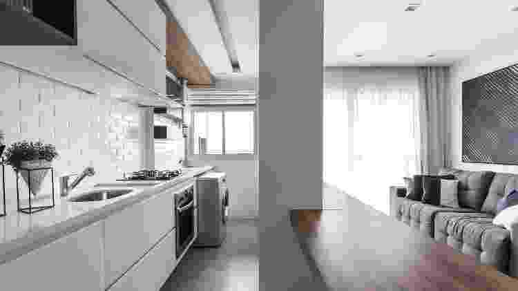 Cozinha pequena - Eduardo Macarios/Divulgação - Eduardo Macarios/Divulgação