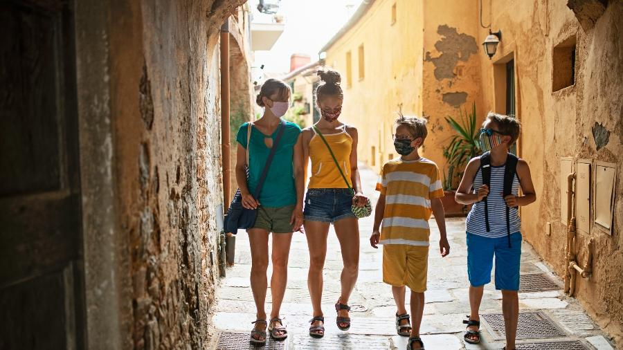 """""""Passe verde"""", na Itália, libera a entrada de turistas da UE e de países com a vacinação avançada - Getty Images"""
