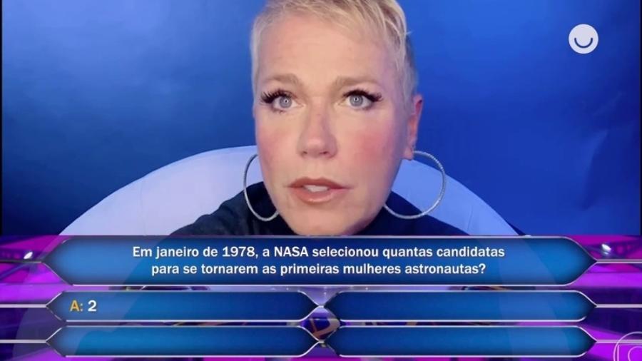 """Famosos respondem a pergunta de """"Quem quer ser um milionário"""" - Reprodução/Globo"""