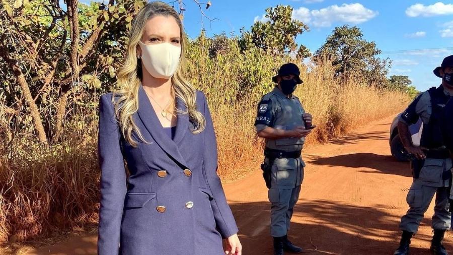 Repórter do SBT, Vanessa Vitória trabalhou na cobertura do caso Lázaro Barbosa até ser mordida por um cachorro - Reprodução/Instagram