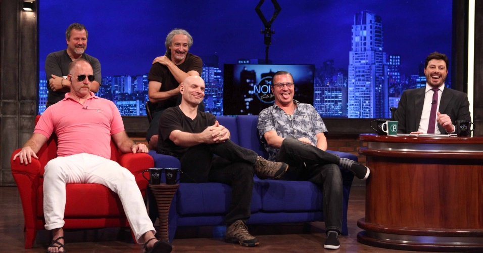 Faith No More dá entrevista no programa