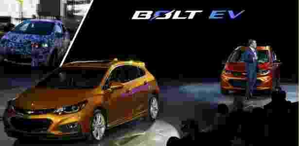 Mark Reuss, presidente da GM EUA, apresenta Bolt e novo Cruze hatch em Detroit 2016 - Gary Cameron/Reuters - Gary Cameron/Reuters