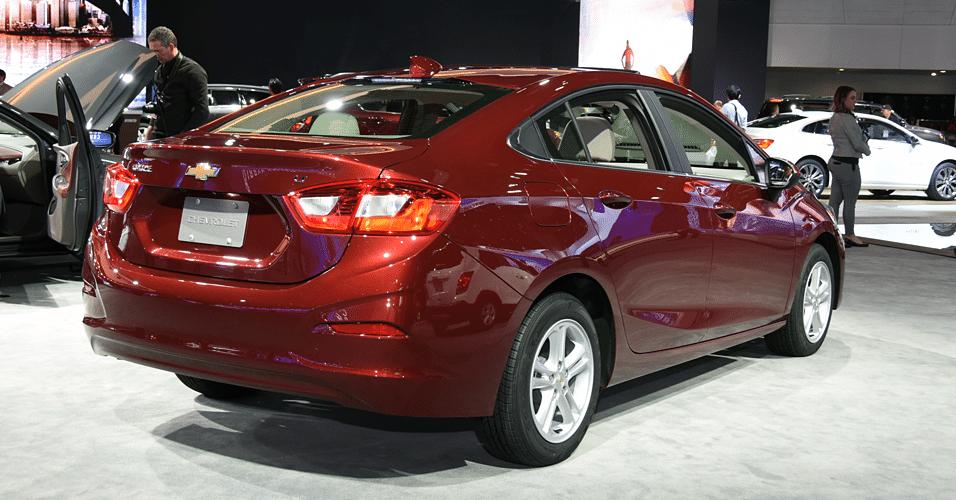 Fotos: UOL Carros mostra a nova geração do Chevrolet Cruze ...