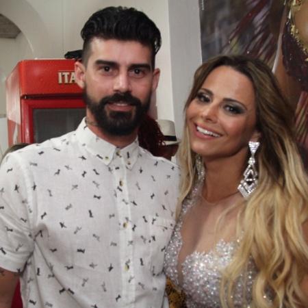 Radamés e Viviane Araújo: fim do casal foi anunciado nesta segunda (28) - Anderson Borde/AgNews