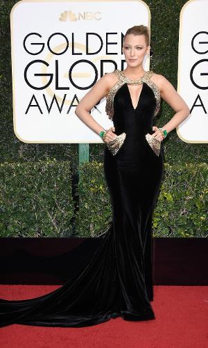 Globo de Ouro 2017: Blake Lively