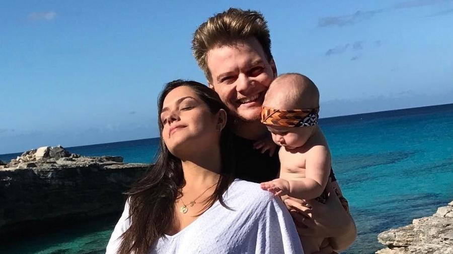 Thais Fersoza e Michel Teló, pais de Melinda, anunciam segunda gravidez - Reprodução/Instagram/micheltelo