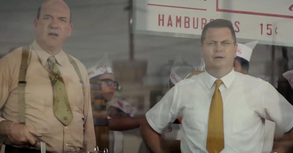 "Cena do filme ""Fome de Poder"" (2016), de John Lee Hancock"