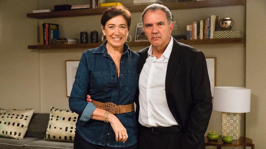 """O casal vivido por Lilia Cabral e Humberto Martins em """"A Força do Querer"""" - Tata Barreto/TV Globo"""