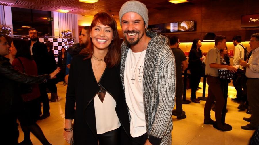 Paulo Vilhena e a namorada Amanda Beraldi - Marcos Ribas/Brazil News