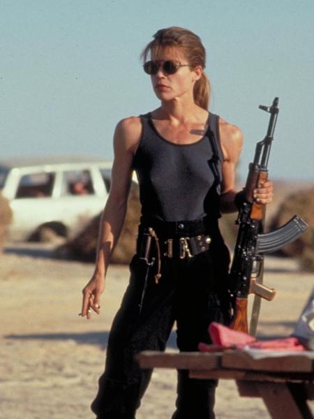 Linda Hamilton repete seu papel como Sarah Connor - Reprodução