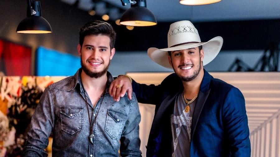 Dupla Bruno & Barretto gravará segundo DVD da carreira nos Estados Unidos em viagem de 12 dias - Divulgação