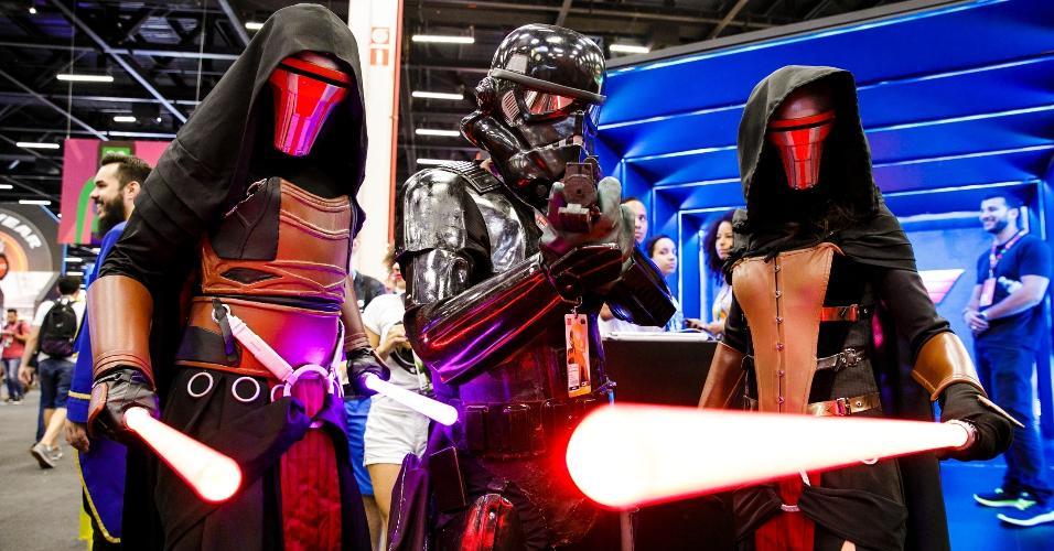 Os personagens da saga criada por George Lucas nunca perderam a popularidade