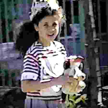 Meghan Markle aos 8 anos - Reprodução/The Daily Mail
