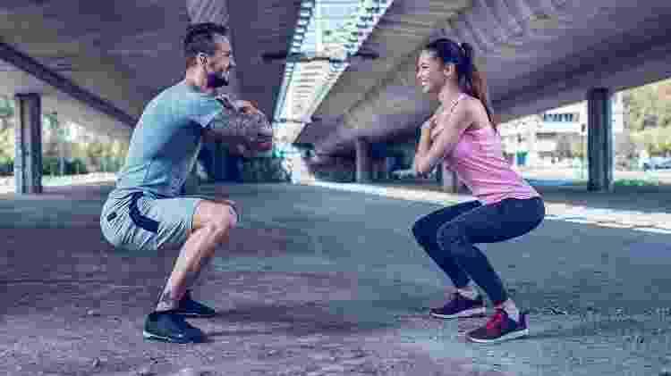 agachamento, exercícios, treino - iStock - iStock