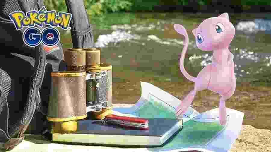 """Um dos monstrinhos lendários originais, Mew é destaque na atualização de """"Pokémon Go"""" - Divulgação"""