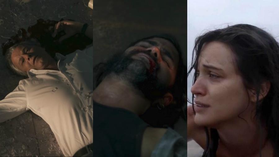 """Diversos personagens já enganaram a morte certa em """"O Outro Lado do Paraíso"""" - Reprodução/Globo/Montagem UOL"""
