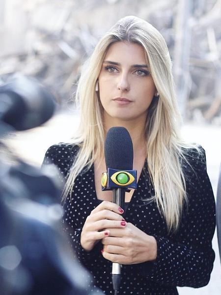 A repórter Joana Treptow, da Band - Instagram/Reprodução