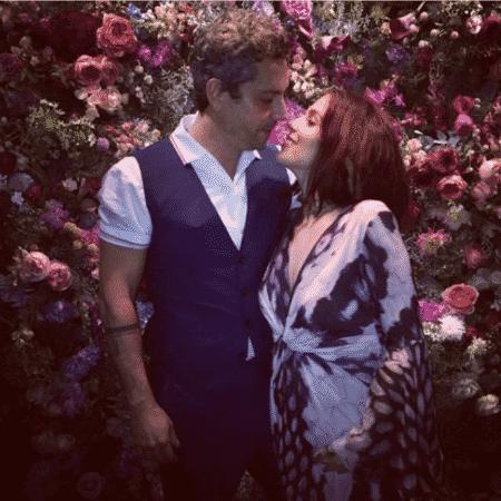 Alexandre Nero e Karen Brusttolin - Reprodução/Instagram