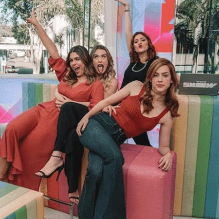 """Vivian Amorim, Fernanda Keulla, Ana Clara e Sophia Abrahão no """"Vídeo Show"""" - Reprodução/Instagram - Reprodução/Instagram"""