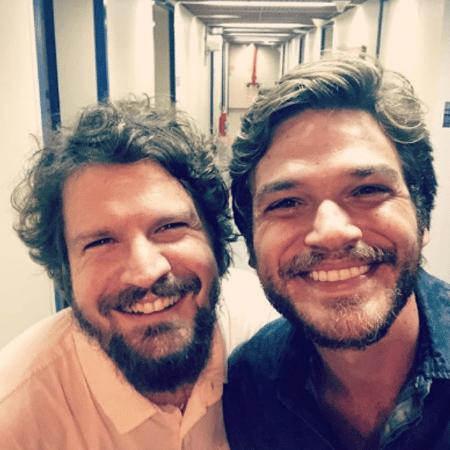 Saulo e Emilio Dantas - Reprodução/Instagram