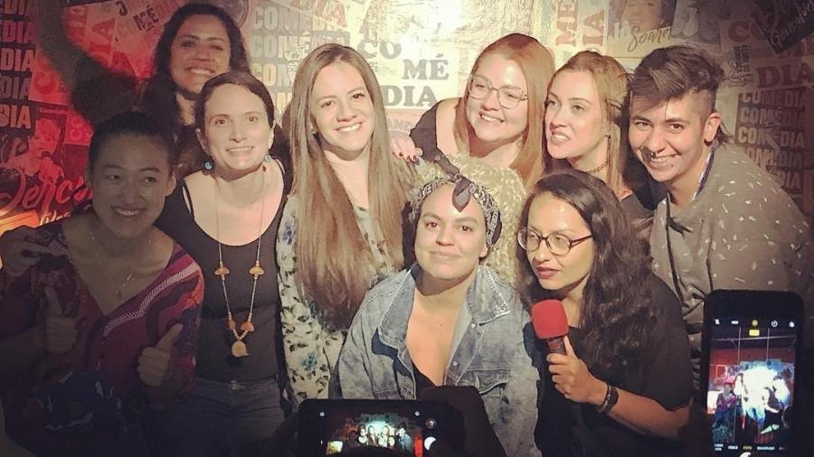 Comediantes de stand up comedy se reúnem no festival de humor Mamacitas - Reprodução/Instagram/clubedominhoca