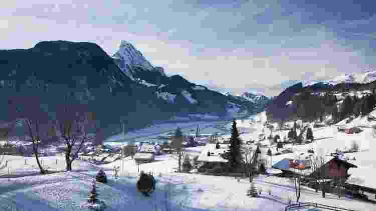 Gstaad, na Suiça - Getty Images/iStockphoto - Getty Images/iStockphoto