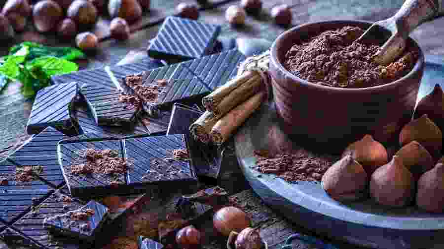 Especialistas explicam a relação entre os chocolates 70% cacau (ou mais) e a saúde - iStock