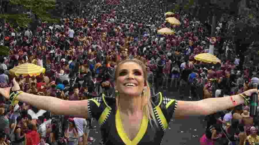 Desfile do Bloco Vou de Táxi no Carnaval de SP - Reprodução/Facebook