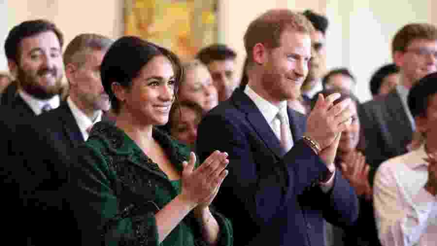 Prestes a dar as boas vindas ao primeiro herdeiro, Harry e Meghan se instalam em nova mansão - Reuters