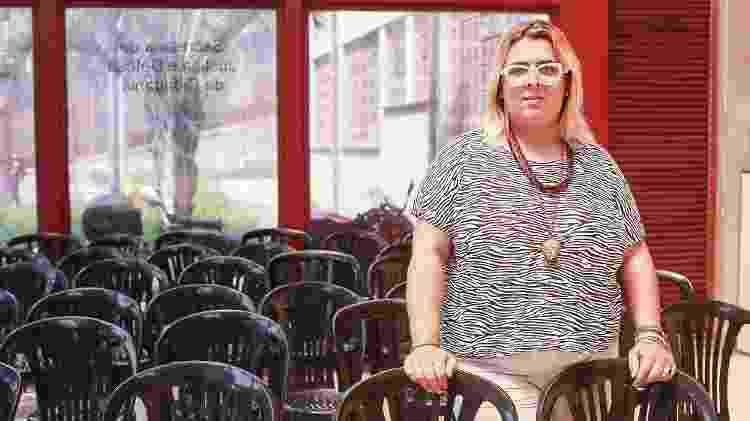 A presidente do Instituto Nice, Valeria Rodrigues, posa para o UOL no CIC (Centro de Integração e Cidadania) na Grande São Paulo - Iwi Onodera/UOL - Iwi Onodera/UOL