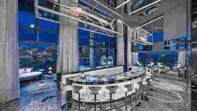 A Empathy Suite tem parte de seu projeto assinada pelo artista britânico Damien Hirst - Divulgação/Palms Casino Resort