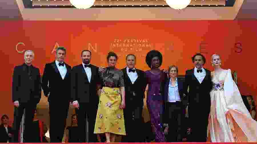 Famosos desfilam no tapete vermelho do Festival de Cannes - Loic Venance/AFP