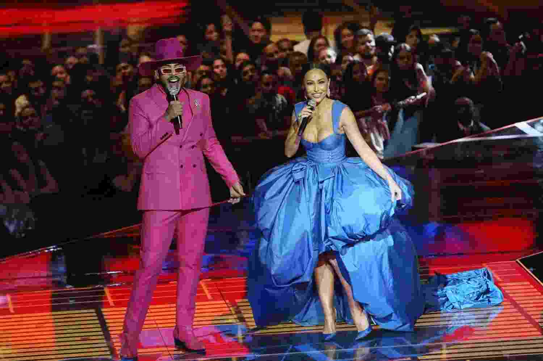 Hugo Gloss e Sabrina Sato na apresentação do MTV Miaw - Manuela Scarpa e Iwi Onodera/Brazil News