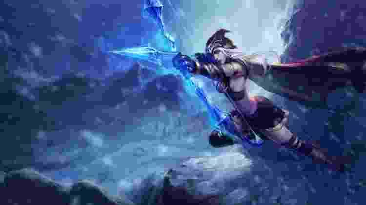League of Legends - Ashe - Reprodução - Reprodução